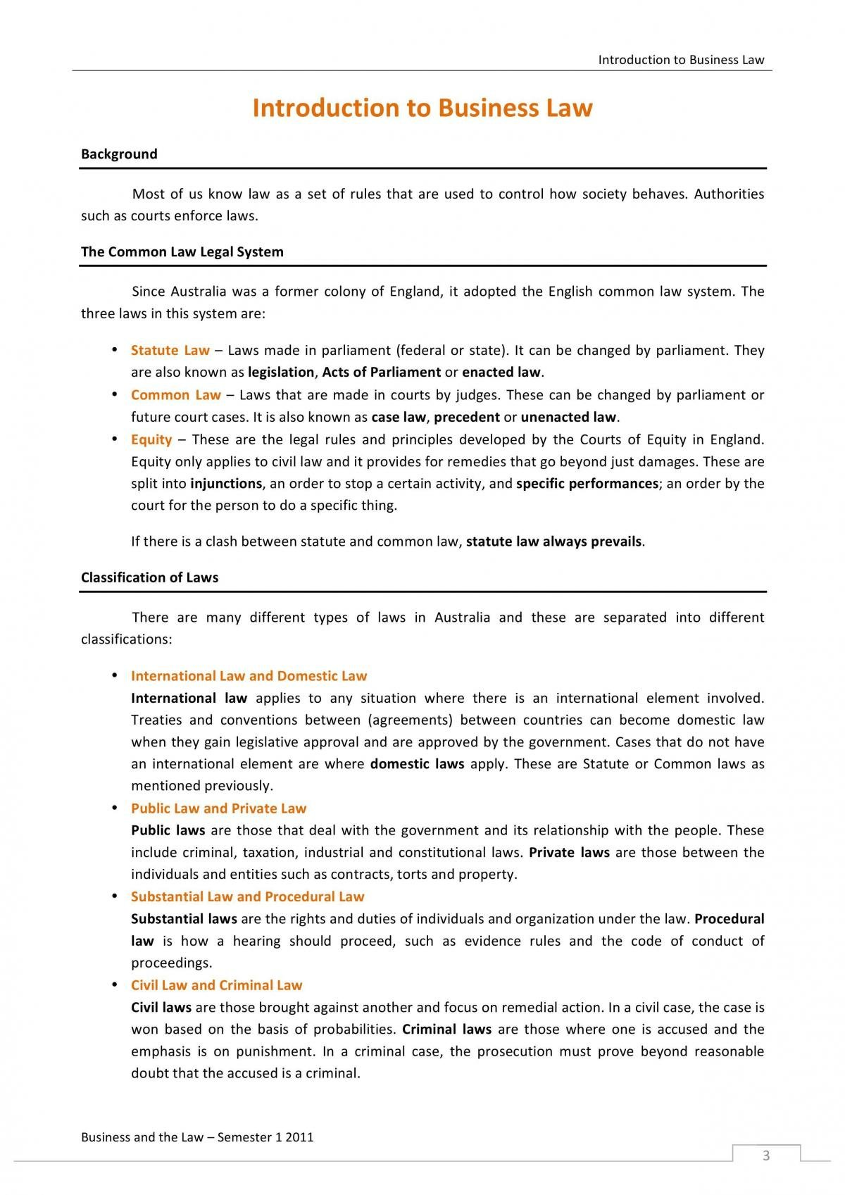Foundations of Law - LEGL1001 - Page 2