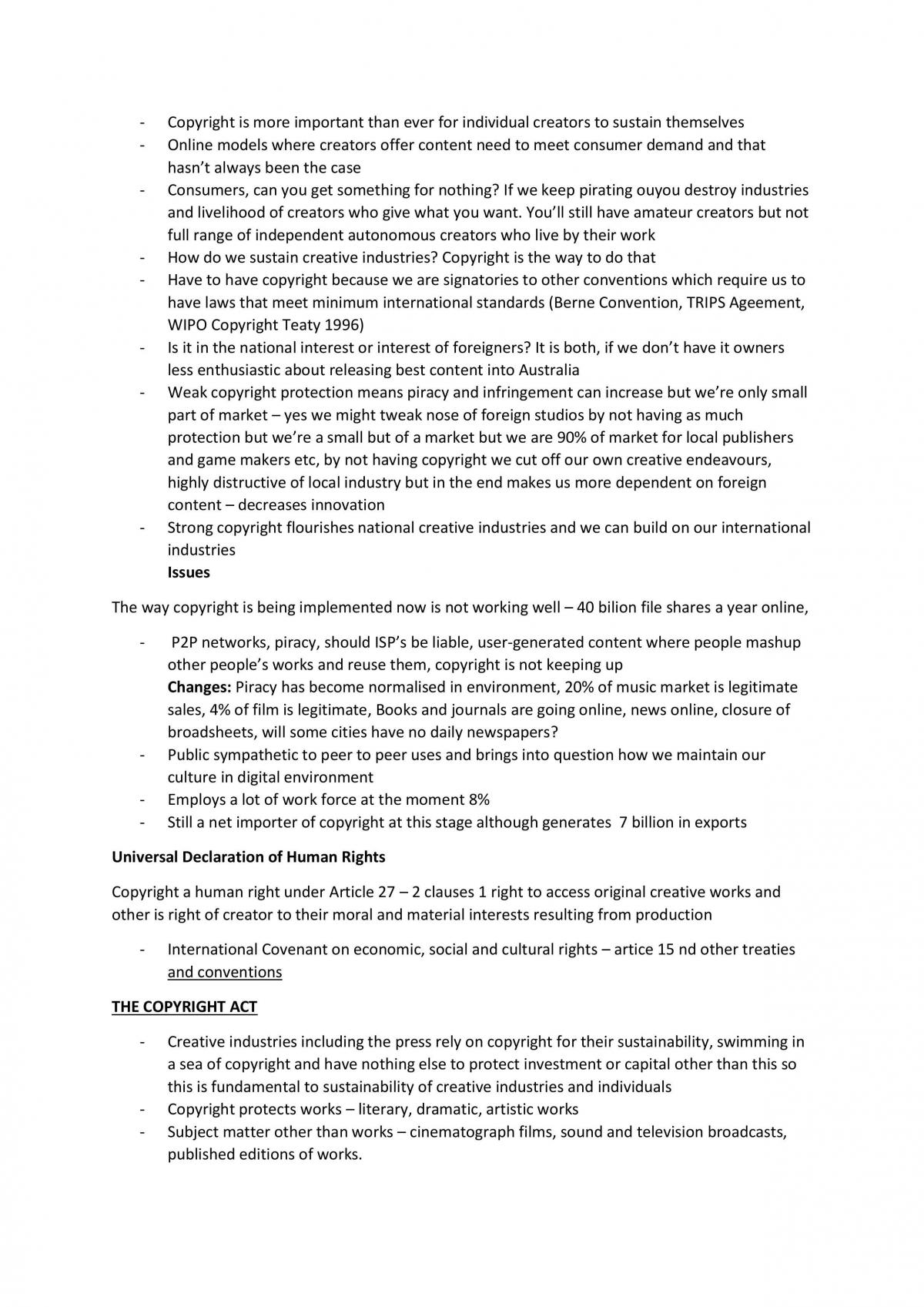 Notes for the Media Law Exam - Page 12