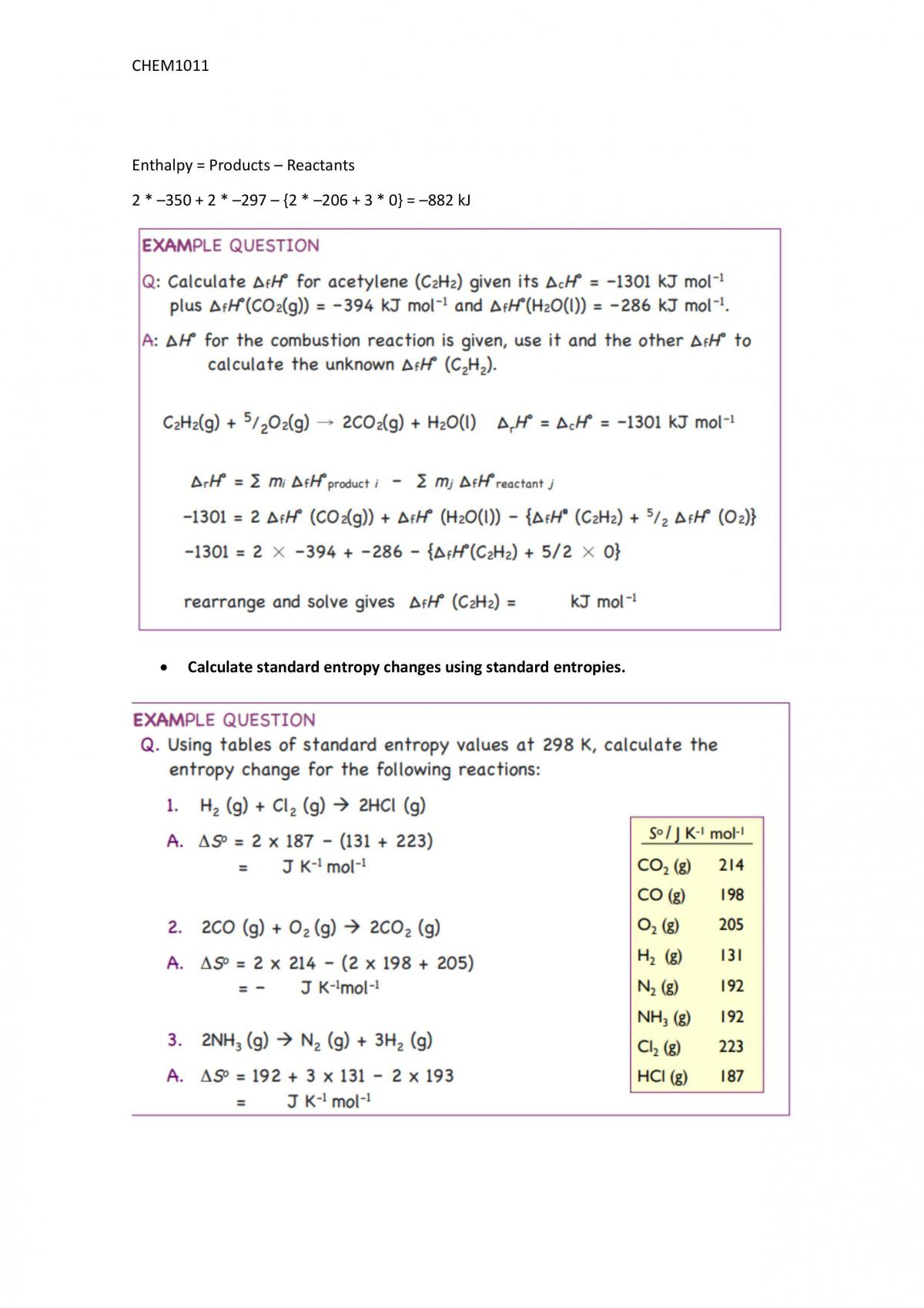 CHEM1011 A Fundamentals of Chemistry Complete Notes - Page 37