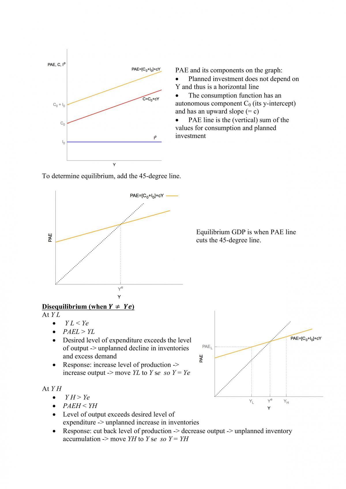 ECON1102 Macroeconomics Notes - Page 36