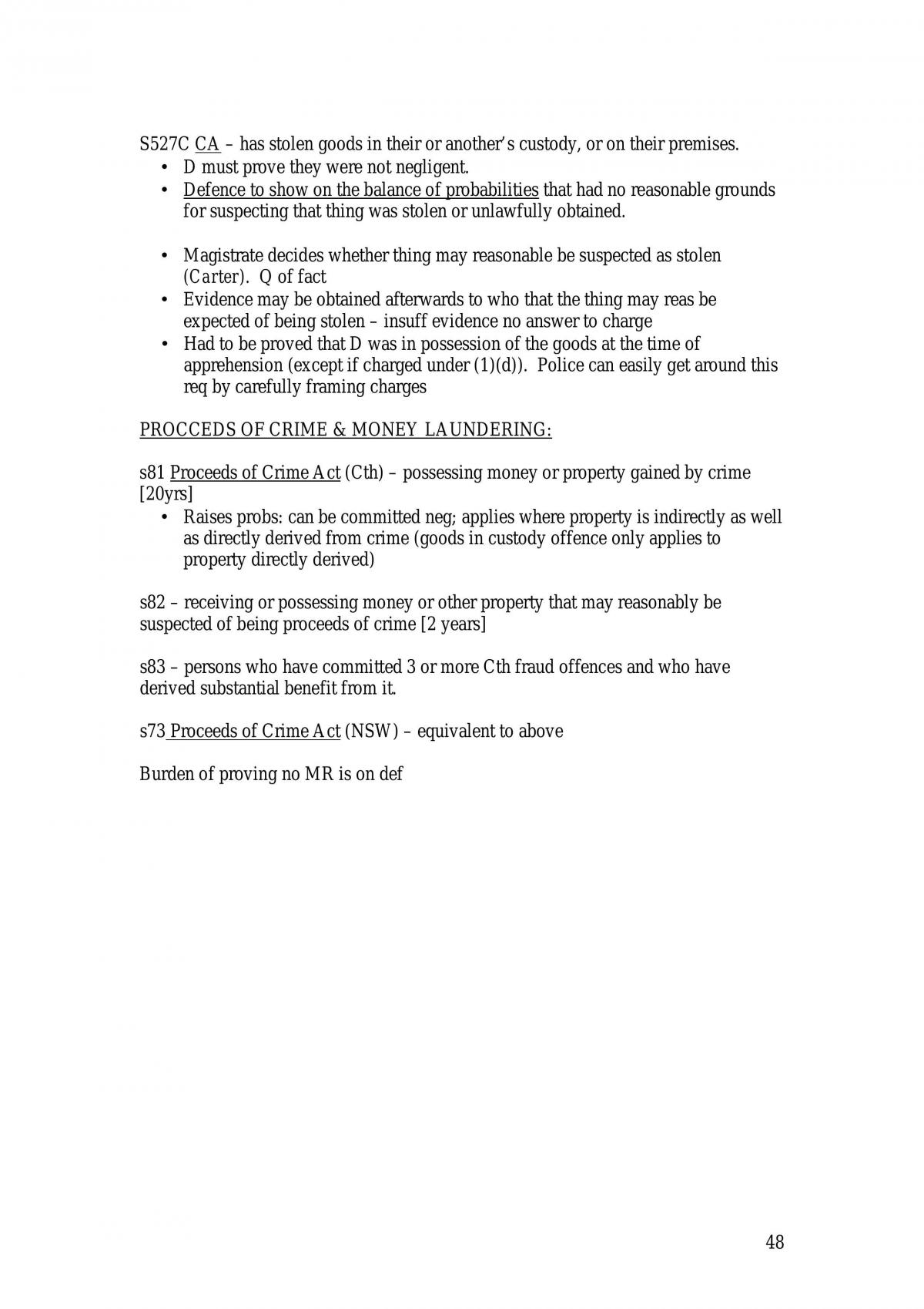 Crim Law 1 - Some Good Notes - Page 48