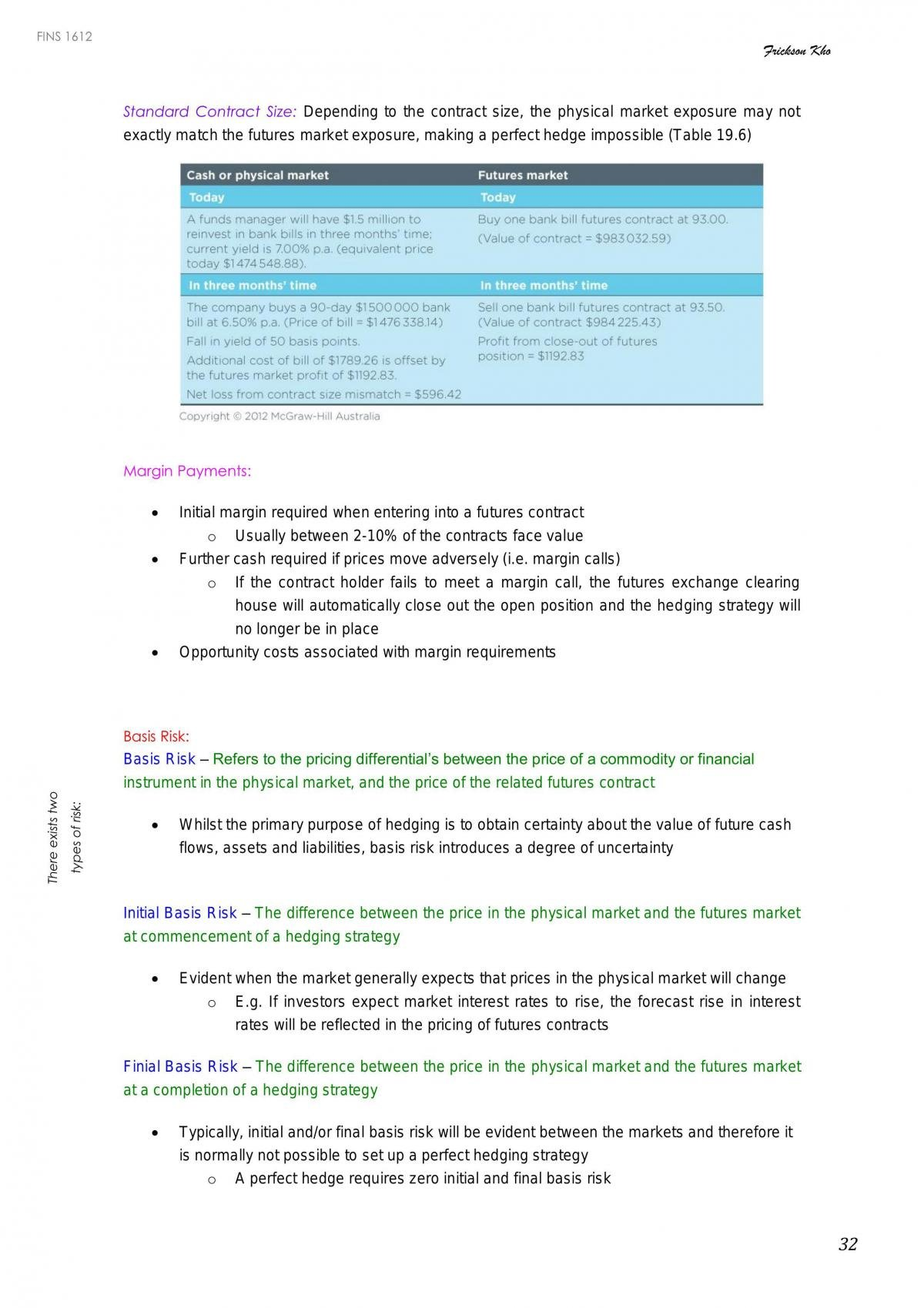FINS1612 Notes - Page 32