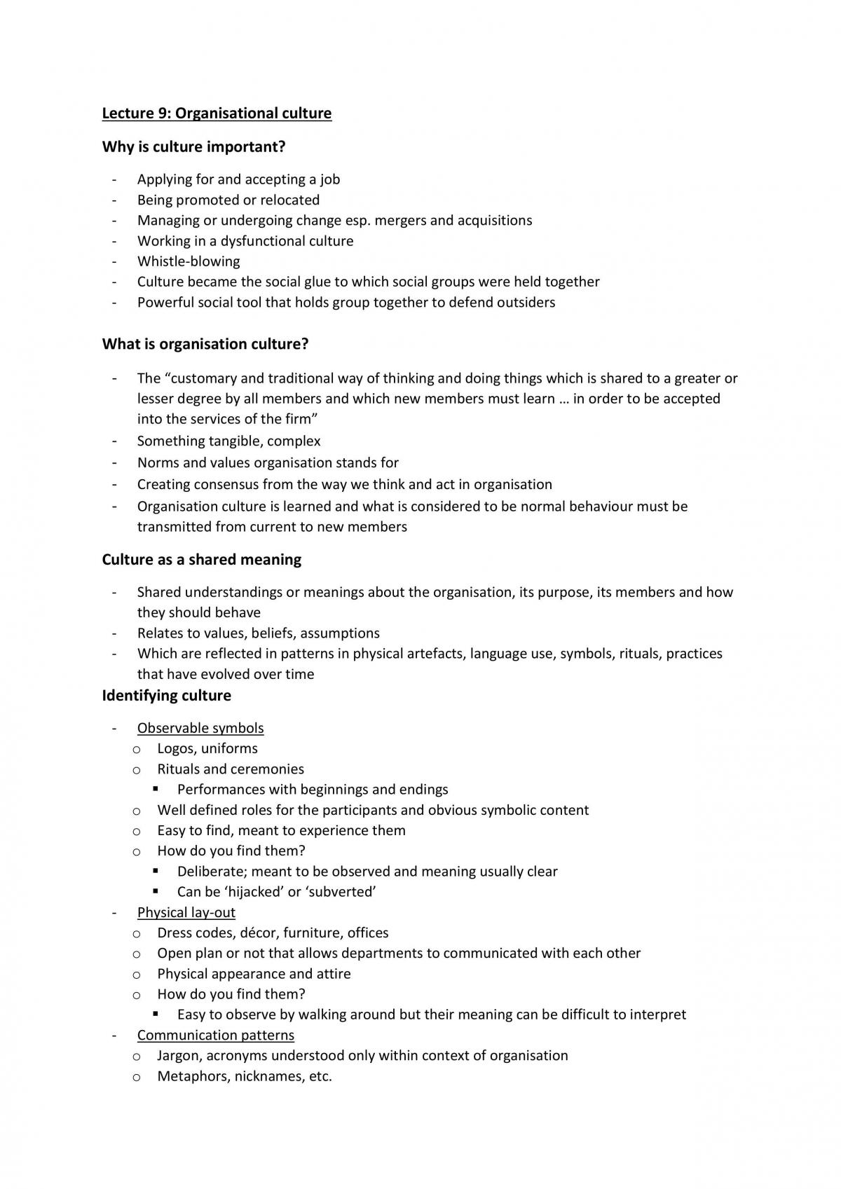 Complete MGMT 20001 Notes - Page 36