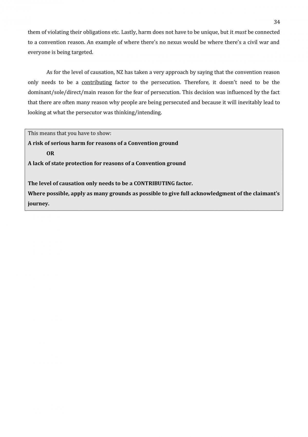 Refugee Law Full Course Notes - Page 35