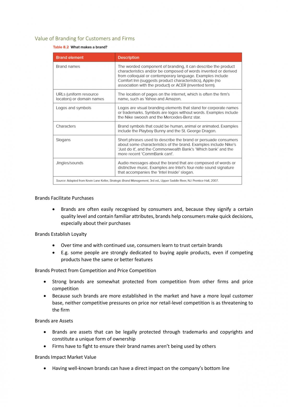 Full Textbook Notes for Marketing Fundamentals - Page 36