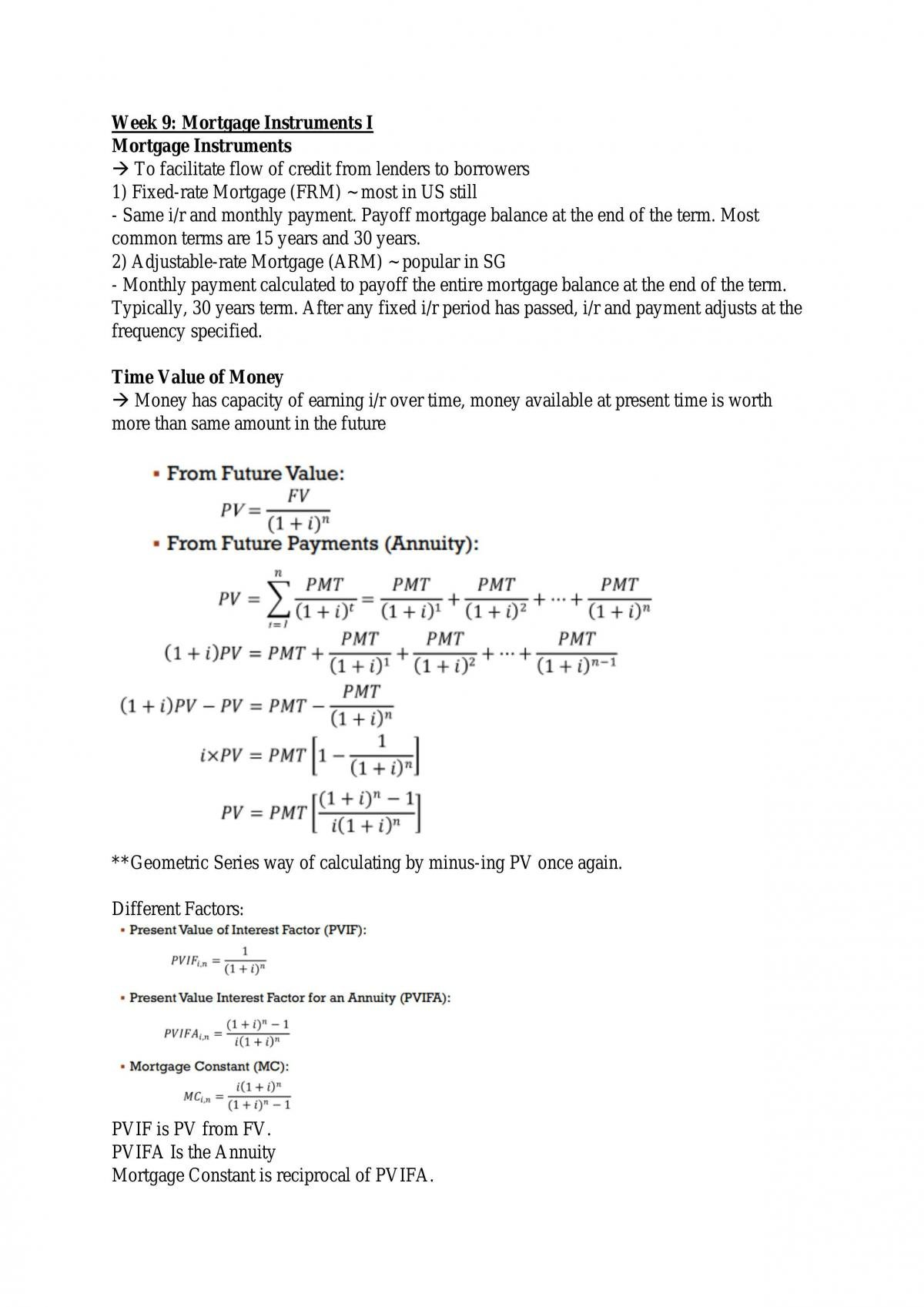 Real Estate Economics Notes - Page 48