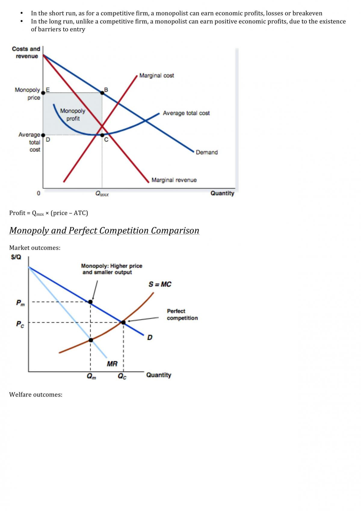 Introductory Microeconomics study notes - Page 43