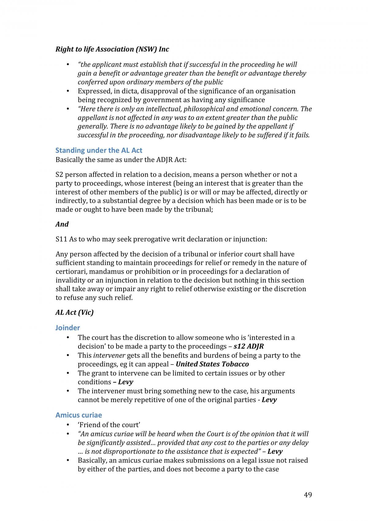 Long Administrative Law Notes With Table Of Contents - Page 53