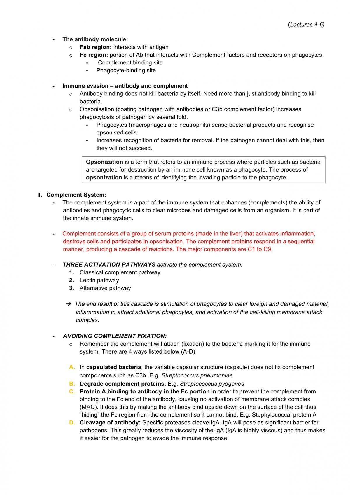 Lectures 1-6 for BMS2052 Notes - Page 21