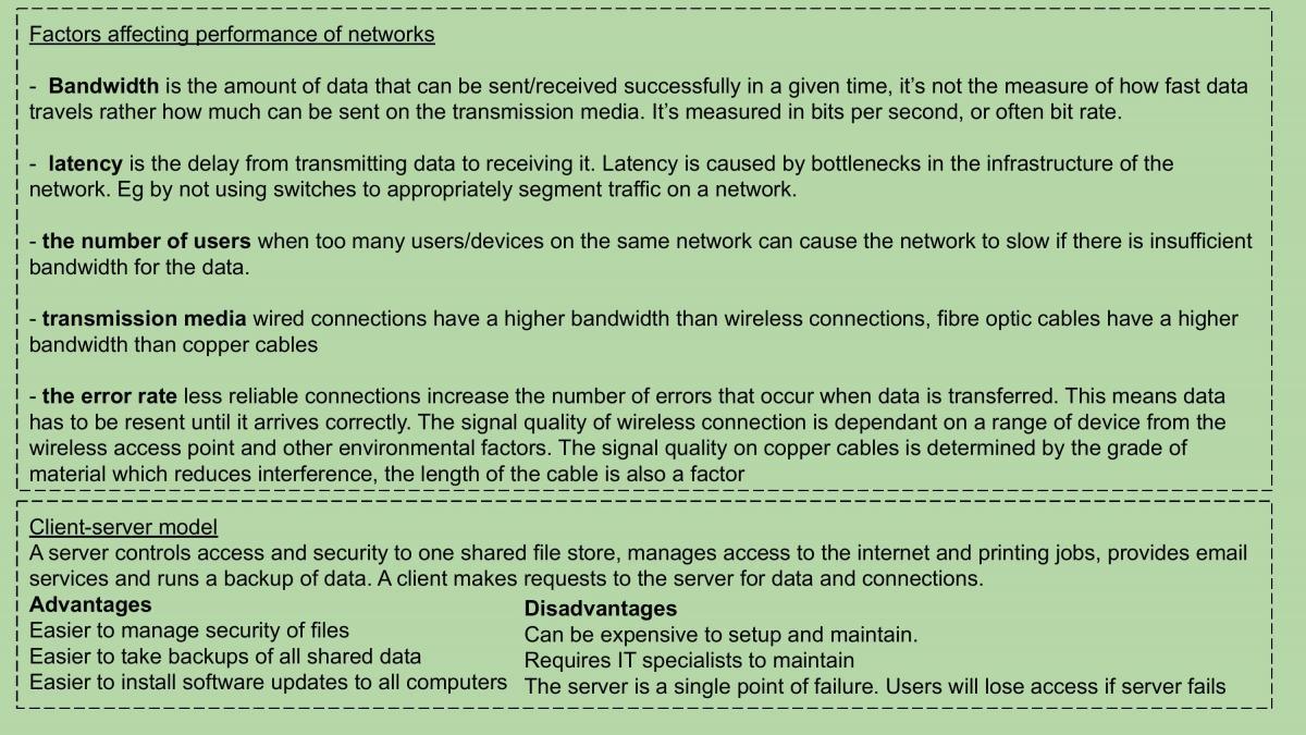 Entire Computer Science GCSE summarised - Page 38