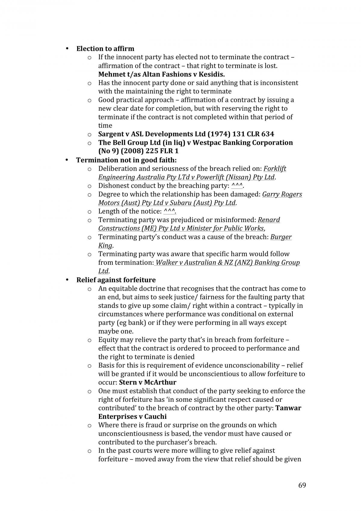 Contracts Notes MQ - Page 69