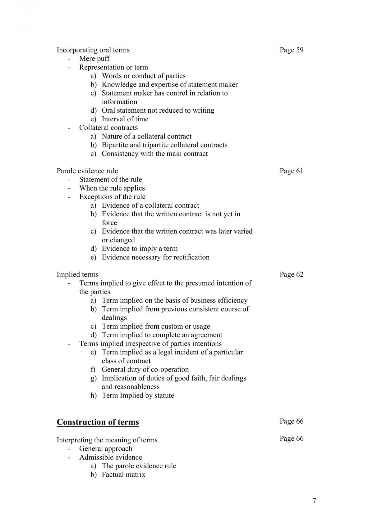 Complete Contracts Notes  - Page 7
