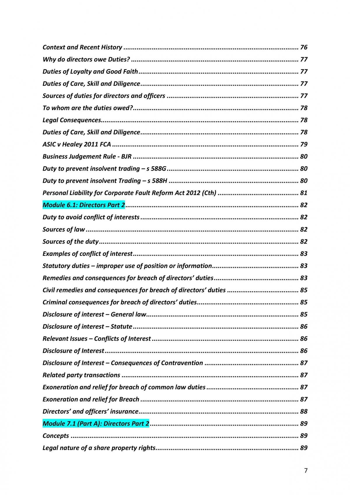 HD Corporations Law Complete Notes - Page 8
